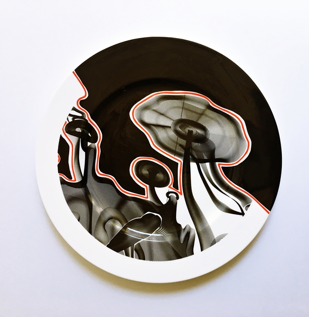 , 'Vortex Engraving #4 Charger Plate,' 2000, Alpha 137 Gallery