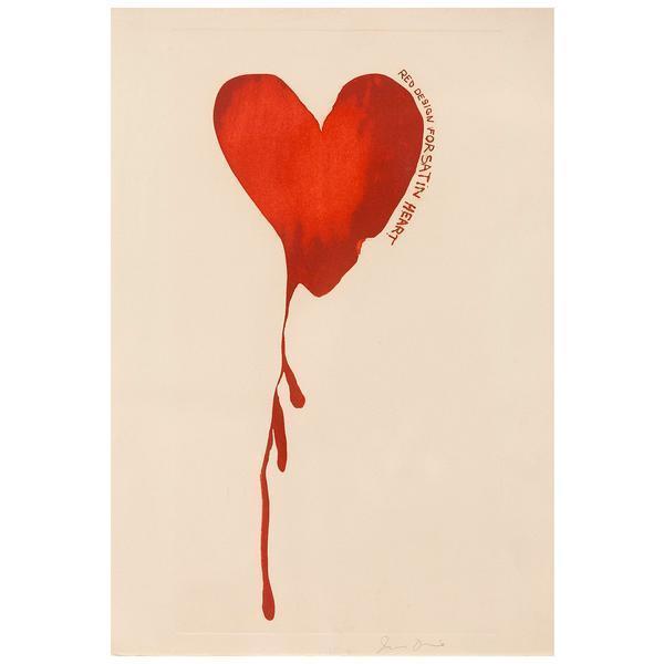 Jim Dine, 'Satin Heart', 1968, Caviar20