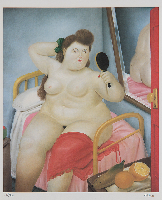 Fernando Botero, 'La Toilette, from Botero', 1982, Print, Offset lithograph in colors, on wove paper, with full margins., Phillips