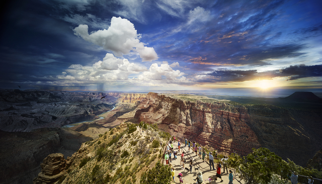 , 'Grand Canyon National Park, Day To Night, 2015,' 2015, Monroe Gallery of Photography