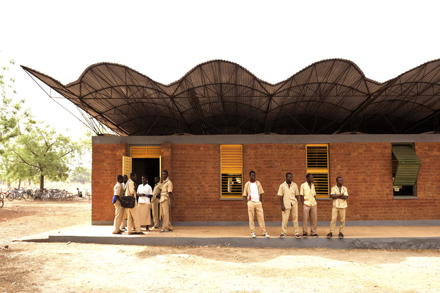 , 'Kéré Architecture, Dano Secondary School , Burkina Faso,' 2007, Louisiana Museum of Modern Art