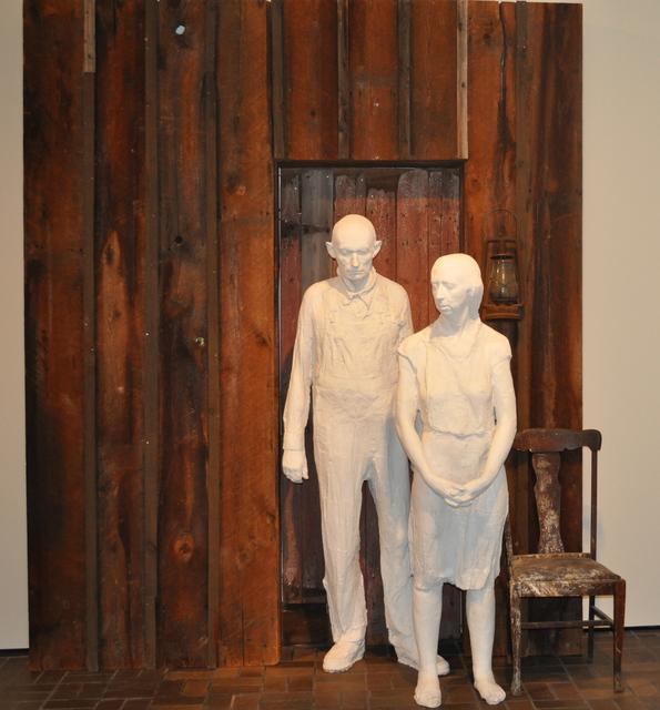 , 'Appalachian Farm Couple 1936,' 1978, Neuberger Museum of Art