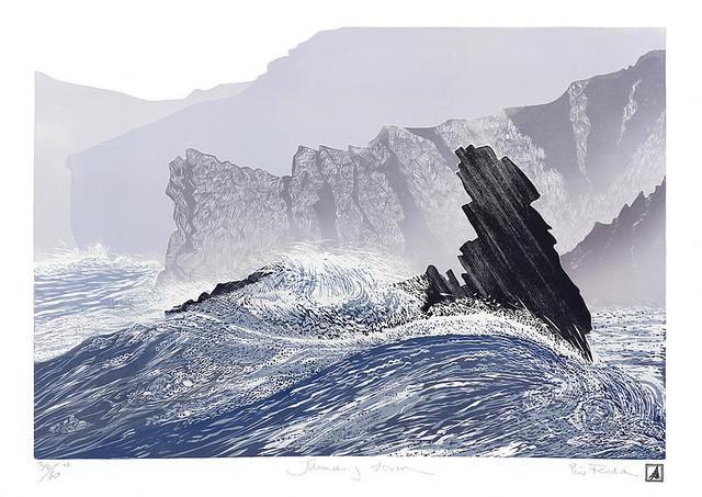 , 'January Storm V2,' , Circle Contemporary
