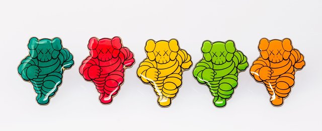 KAWS, 'Chum Pin, set of five', 2006, Heritage Auctions