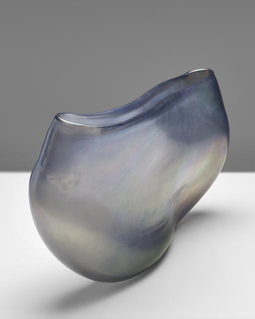 Massimo Micheluzzi, 'vaso vetro piatto grigio', 2015, Brutto Gusto