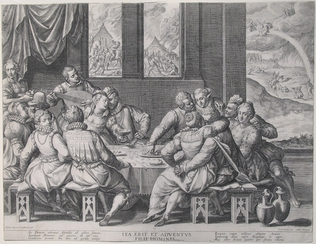 , 'An Allegory of Lust, Greed, and Folly,' 1601, Jan Johnson Old Master & Modern Prints