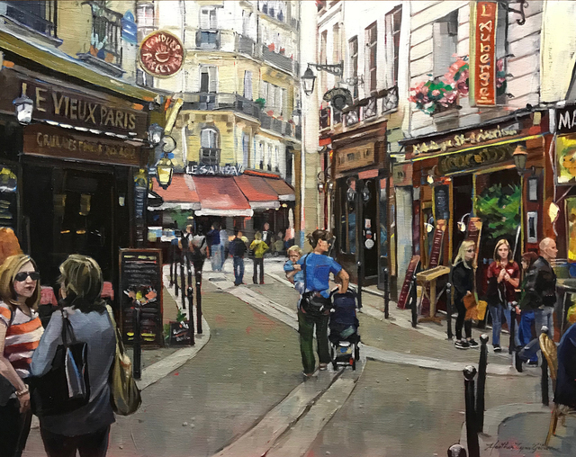 , 'Le Vieux Paris,' , Peninsula Gallery
