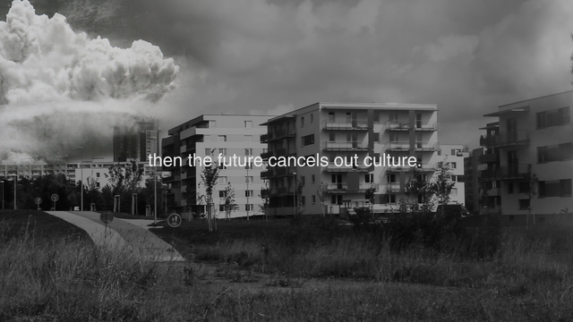 , 'Nature vs Culture vs Future,' 2016, Drdova