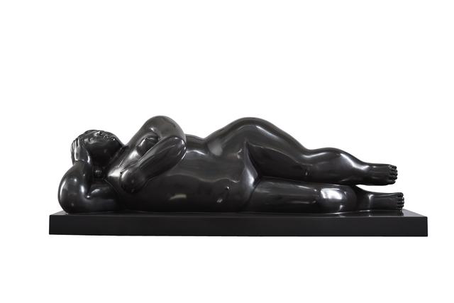 Fernando Botero, 'Mujer recostada sobre el costado', 2014, Galeria Freites