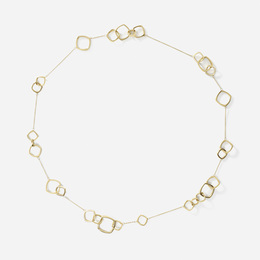 A gold Torque necklace