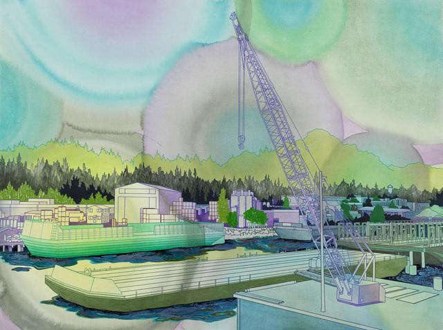 , 'Industrial Mystique,' 2018, Linda Hodges Gallery