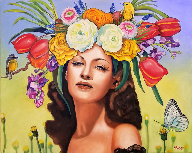 """, ' """"Wish You Were Here"""", (Yvonne DeCarlo),' ca. 2019, Parlor Gallery"""