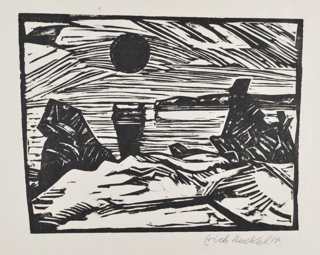, 'Sunrise,' 1914, Galerie St. Etienne