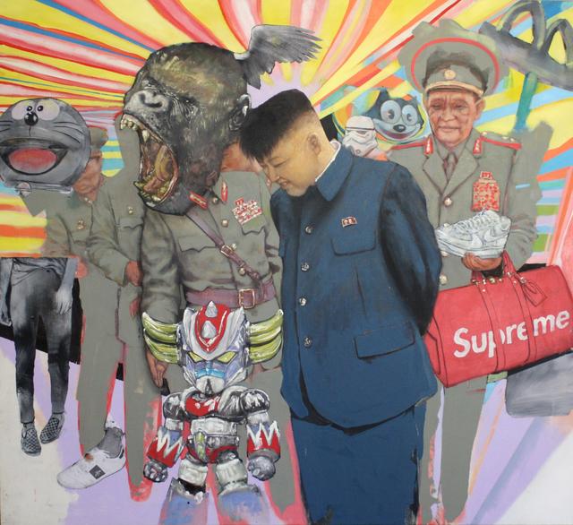 , 'Random Rumble,' 2018, GR Gallery