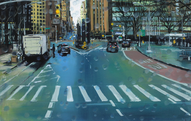Karen Woods, ' 1st Avenue', Painting, Oil on linen, George Billis Gallery