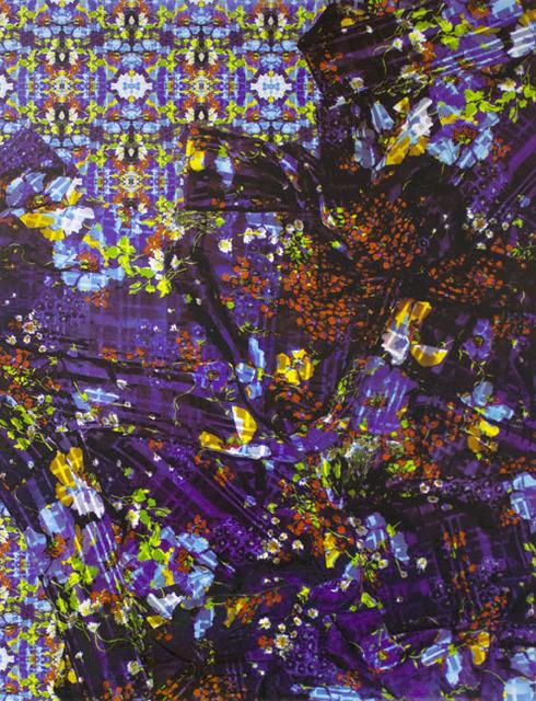 Charlene Liu, 'Petals Undone', 2015, Print, Screenprint on aluminum panel, Elizabeth Leach Gallery