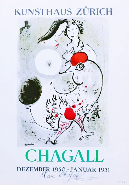 Marc Chagall, 'Chagall (Hand Signed)', 1950, Alpha 137 Gallery