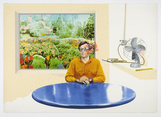 , 'Picture Window,' 1980, Flowers
