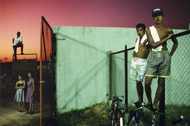 , 'Baseball fans. Sancti Spiritus. Cuba. ,' 1993, Magnum Photos