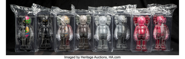 KAWS, 'Companion (Open Edition) (set of eight)', 2016, Heritage Auctions