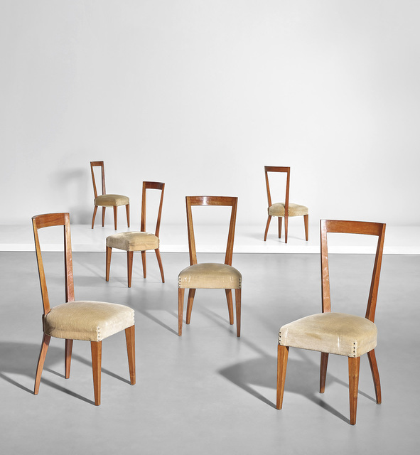 Gio Ponti, 'Set of six dining chairs', Phillips