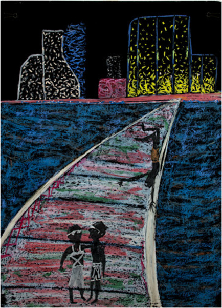 Reginald K Gee, 'Early Morning on the Old Town Bridge', 1993, David Barnett Gallery