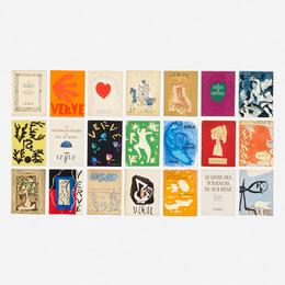Various Artists, 'Portfolio Revue Verve,' 1937-1960, Wright: Prints + Multiples (January 2017)