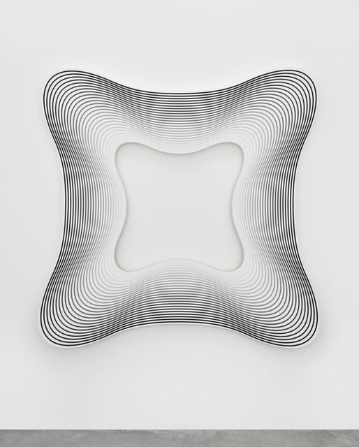 , 'Delay (square to white / 24),' 2017, PRAZ-DELAVALLADE