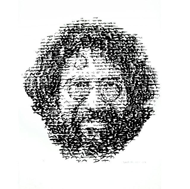 David Hollier, 'Jerry Garcia', 2017, New Apostle Gallery