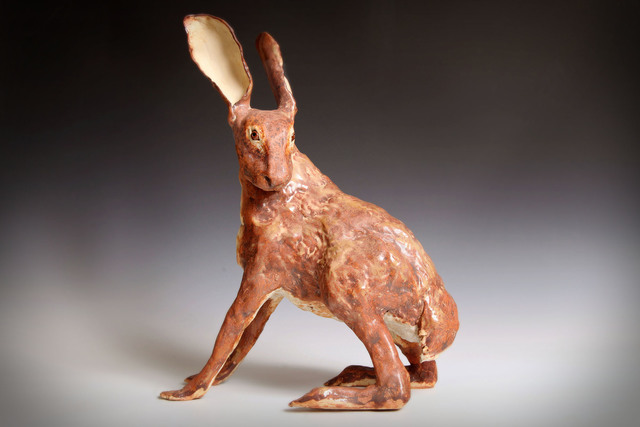 , 'Hare,' 2019, The Galleries at Salmagundi