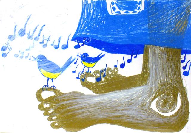 , 'Blue Division,' 2009, Galerie Sabine Knust