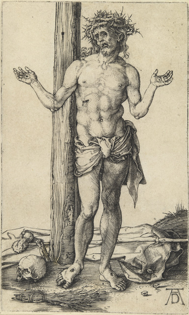 Albrecht Dürer, 'The Man of Sorrows with Arms Outstretched', ca. 1500, National Gallery of Art, Washington, D.C.