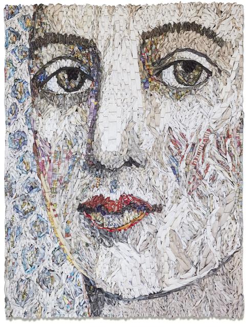 , 'Female Portrait #1,' 2017, Andrea Schwartz Gallery