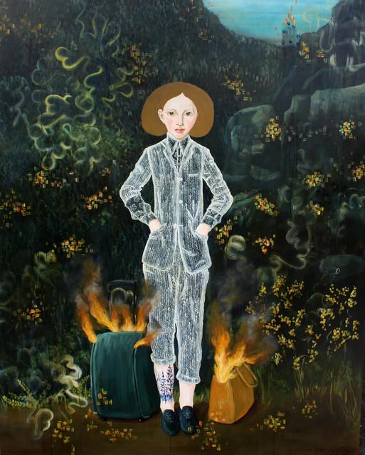 , 'Es Brennt,' 2019, Bruce Lurie Gallery