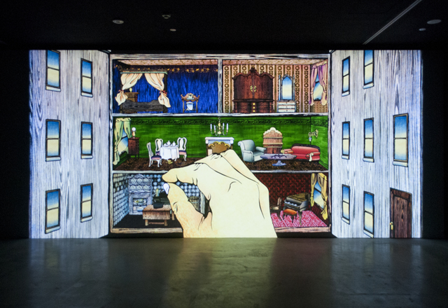, 'dolefullhouse,' 2017, San Jose Museum of Art