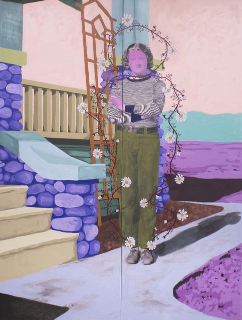 Daisy Patton, 'Untitled (Sunshine Quality Apr 10 1934 Never Fade)', 2017, k contemporary