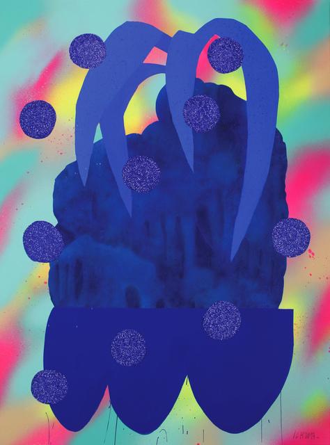 , ' Blue Plants Pot 4,' 2017, KOLLY GALLERY