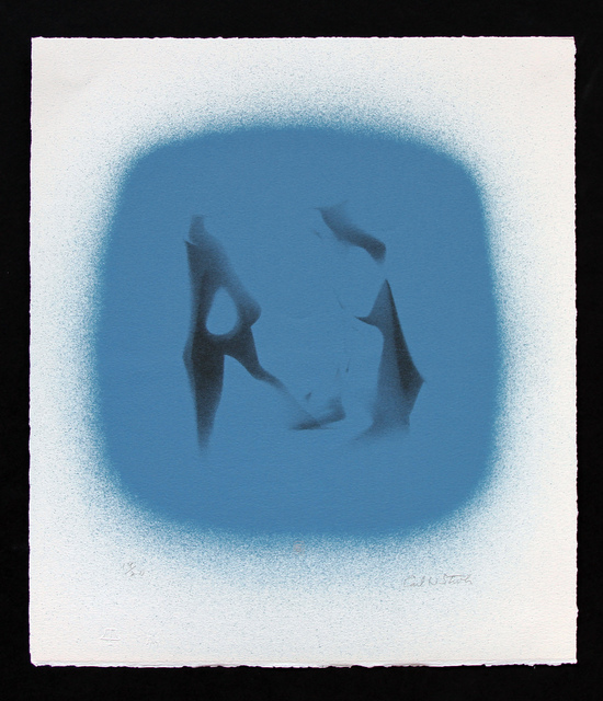 , 'Two Figures (Blue) ,' 1971, Aaron Payne Fine Art