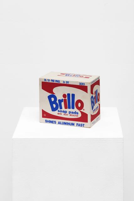 , 'Andy Warhol, Brillo Box, 1964,' 1969, Galerie Mitterrand