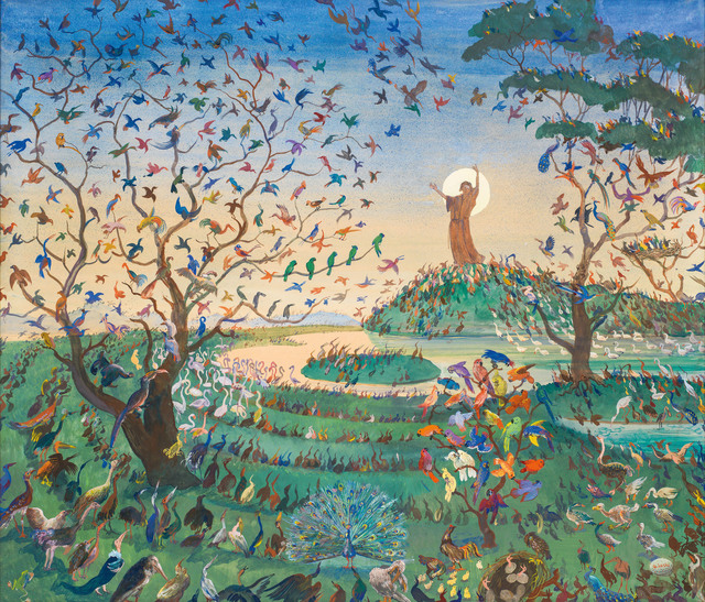 , 'The Bird Preachers,' ca. 1915, Galerie Kovacek & Zetter
