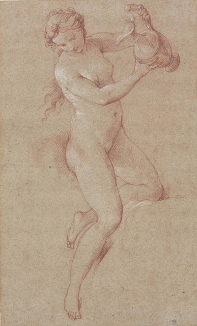 , 'A nude woman holding an ewer (study for Hebe),' , Christie's Old Masters