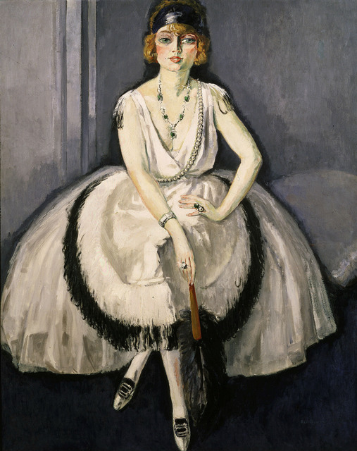 Kees van Dongen, 'Woman with a fan', 1913, Painting, Oil on canvas, Art Resource