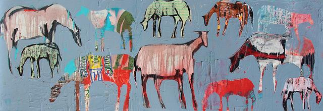 , 'Magnetic Horses,' 2019, Bau-Xi Gallery