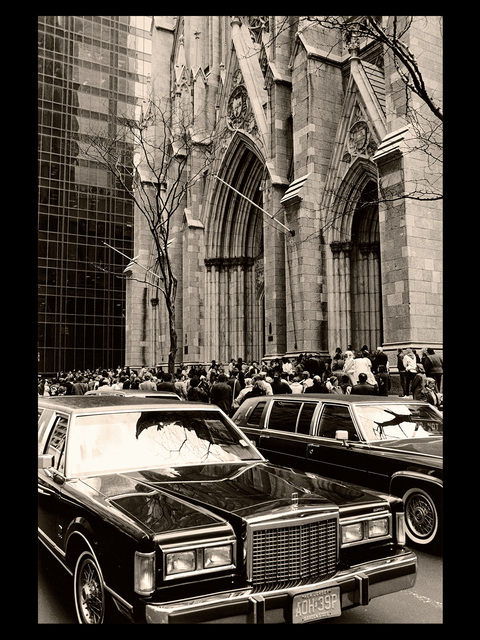 , 'Andy Warhol Memorial: St. Patrick's Cathedral, April 1st, 1987.,' 2017, Alfstad& Contemporary