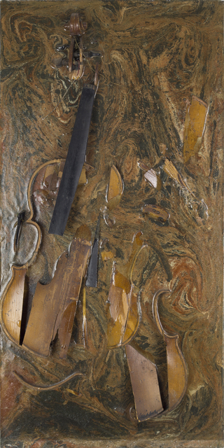 , 'Burnt Violin ,' 1966, RUDOLF BUDJA GALLERY