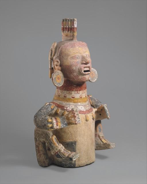 Unknown Nahua, 'Deity Censer (Xantil)', 1200–1521, The Metropolitan Museum of Art
