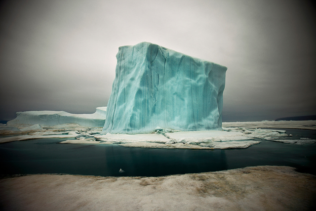 , 'Iceberg IX,' 2010, CAMERA WORK