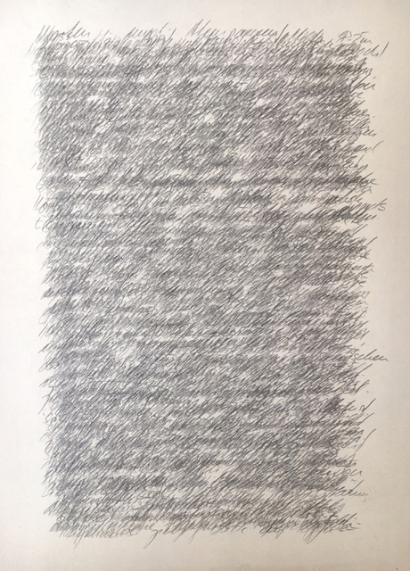 , 'Tagebuchaufzeichnungen,' 2017, Pentimenti Gallery