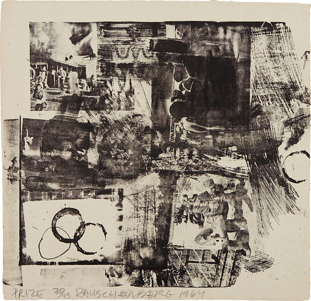 Robert Rauschenberg, 'Prize, from XXXIV Drawings for Dante's Inferno', 1964, Phillips