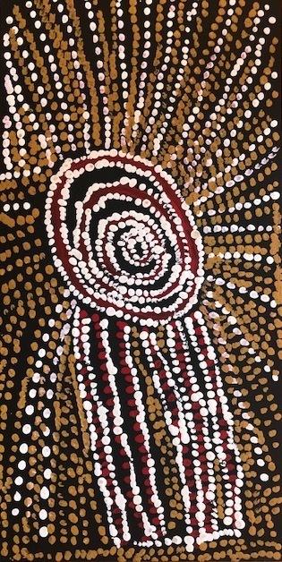 Bill Whiskey Tjapaltjarri, 'Rockholes Near the Olgas (NABWT_RNO10-070020PAG)', 2007, Nanda\Hobbs